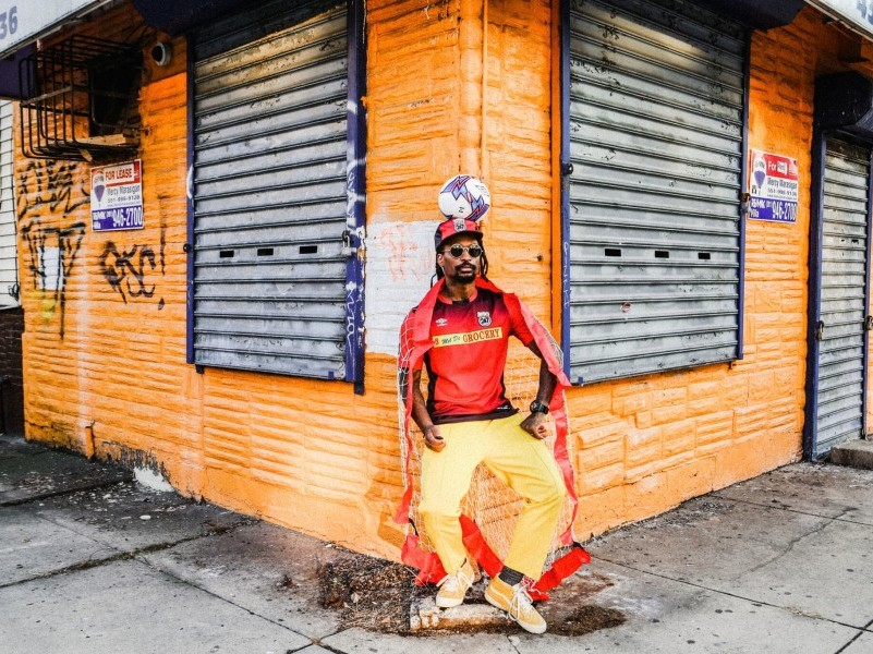 Hip Hop Photographer Mel D. Cole Bringing NYC Fashion Sense To Soccer Jerseys