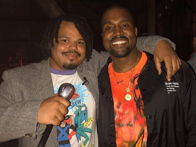 """Kanye West """"vosotros"""" Listening Party Resumen Encuentra Espaguetis Chicos Kerwin Heladas Buscando Drogas"""