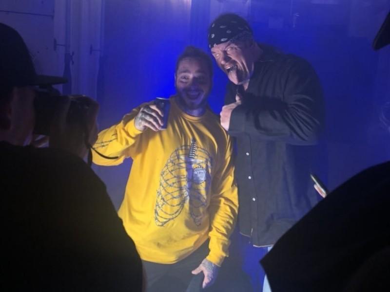 Watch: The Undertaker Chokeslams Post Malone At Austin Show