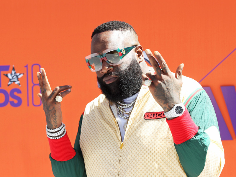 Rick Ross, Meek Mill, DJ Khaled, T. I. & More hit The 2018 BET Awards Red Carpet
