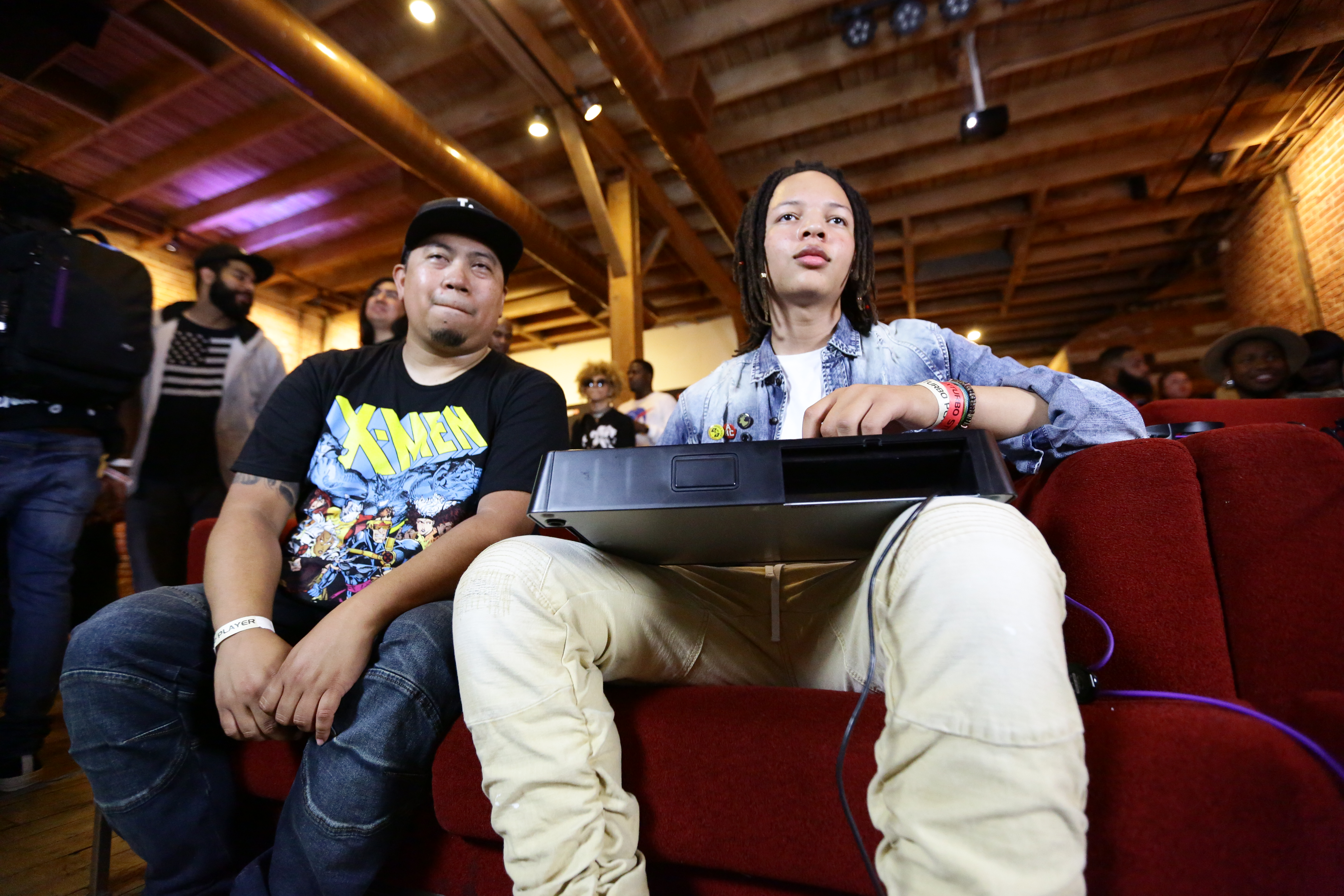 AD & Jackie Tran Conquer DX TURBO III: Rappers Vs. Gamers Hosted By BET & Wingstop