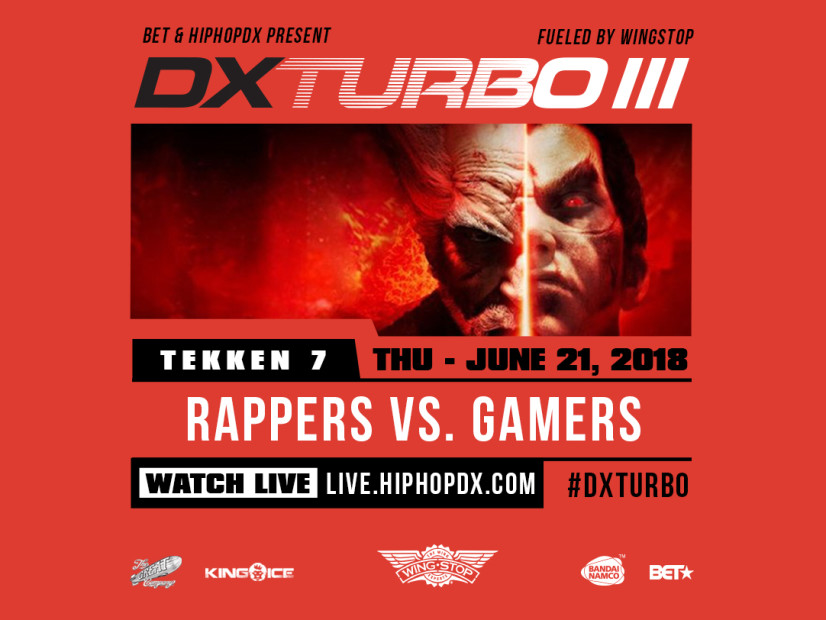 BET & Wingstop To Host HipHopDX's 3rd Annual DX TURBO III: Rappers Vs. Gamers Tag-Team Tournament