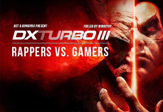 The rapper AD & Tekken Champion Jackie Tran Conquer DXTURBO III: Rappers Vs. Players