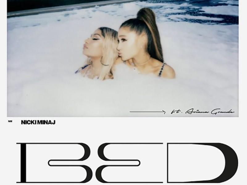 "Nicki Minaj Drops ""Bed"" Only With Ariana Grande"