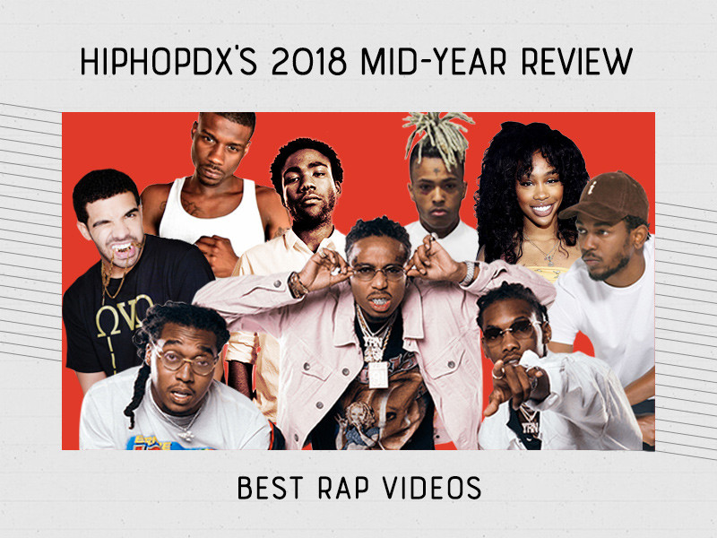 The Top 10 Rap Videos Of 2018 (So Far)