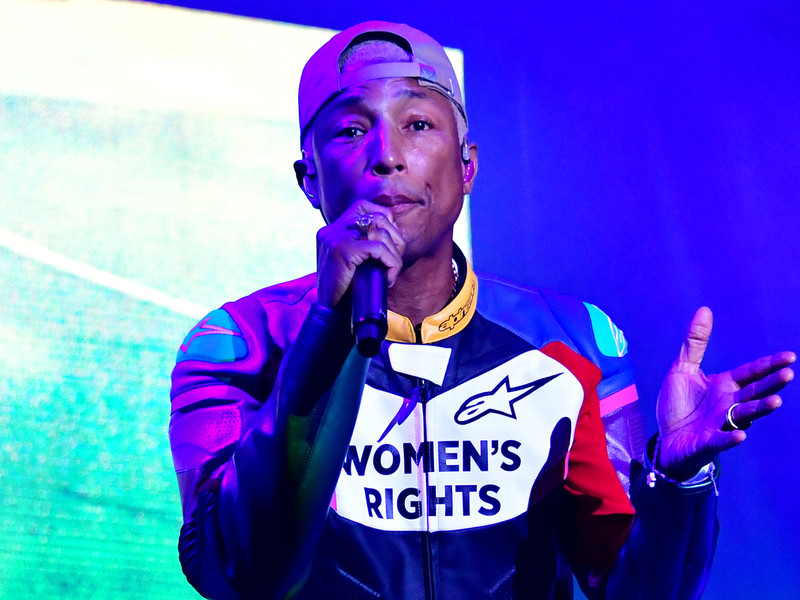 Pharrell is the Curator of Spotify's Black History that Is Happening Now in the Volume 2