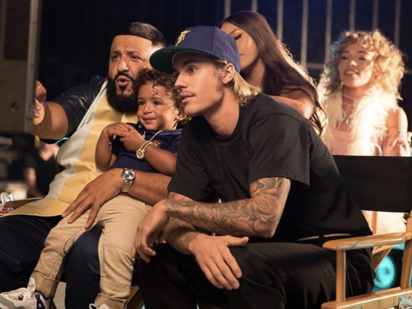 """DJ Khaled Announces """"No Brainer"""" With Quavo, Chance The Rapper & Justin Bieber"""
