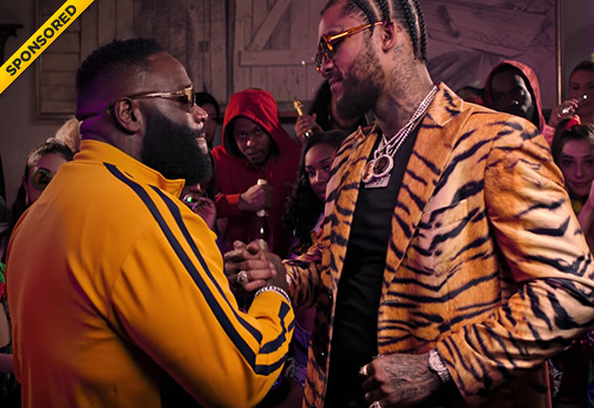 "Dave East & Rick Ross Serve KandyPens In ""Fresh Prince Of Belaire"" Video"