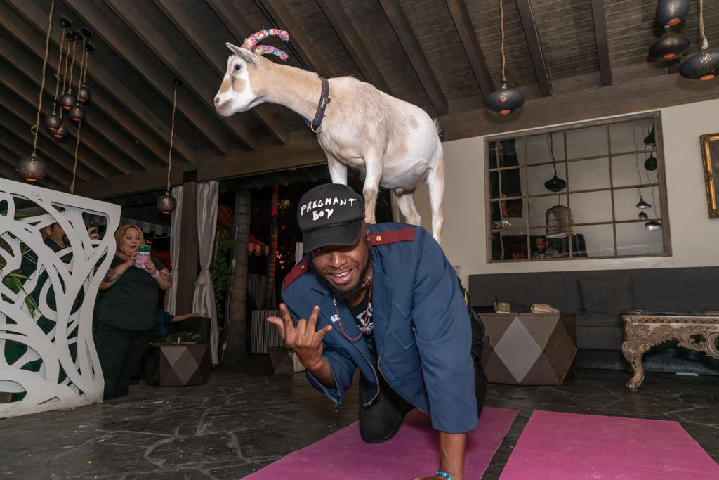 "Left Brain Celebrates ""Mind Gone, Vol. 2"" With A Goat Yoga Release Party"
