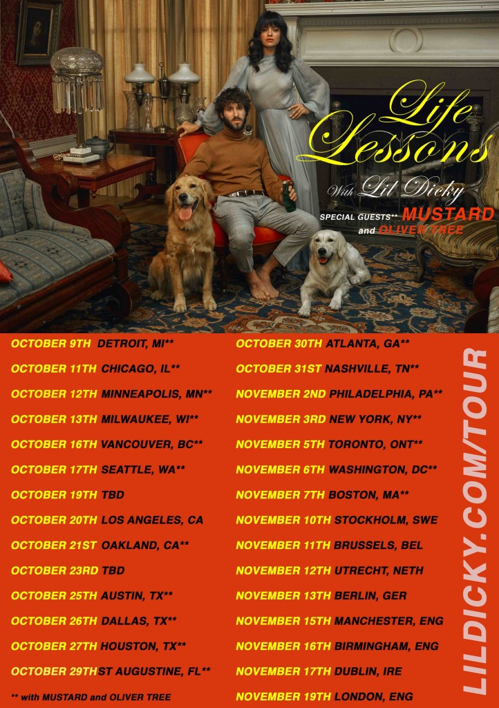 lil dicky life lessons tour