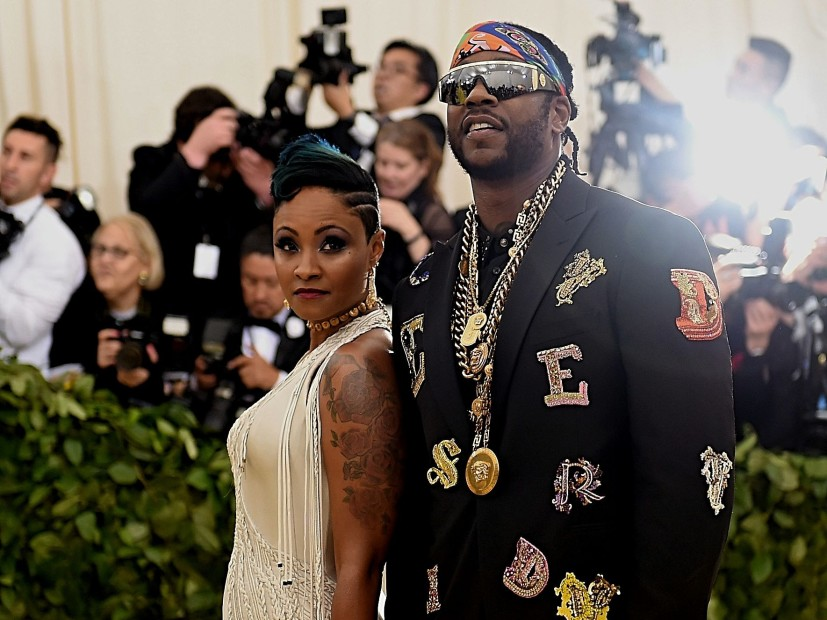 2 Chainz Brings White Tiger To His Lavish Miami Wedding