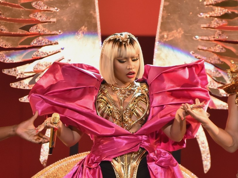 Nicki Minaj the Delivery of Pre-Recorded Performance For the 2018 MTV video music awards