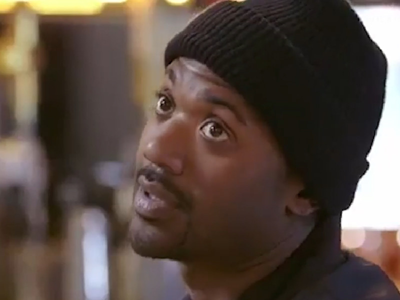 Ray J Moves Beanie hat Sparks Hilarious #RayJHatChallenge