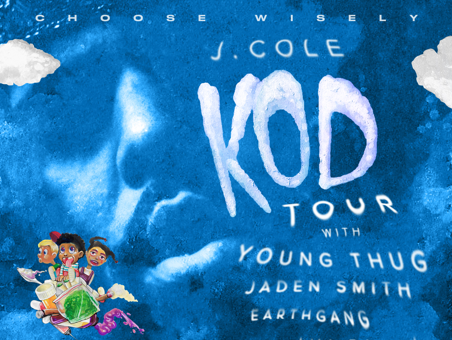 Here's A look At J. Cole's K. O. D. Tour With Young Thug, Jaden Smith & Earthgang