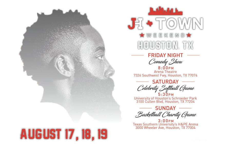 Travis Scott, Meek Mill & More Show De James Harden #JHtownWeekend