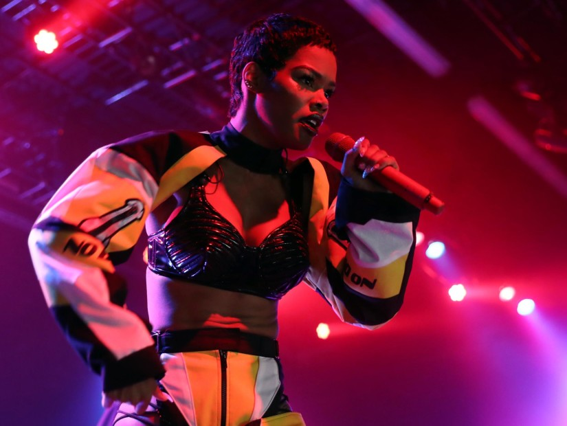 Teyana Taylor Exits Later That Night Tour & Has Smoke For Jeremih