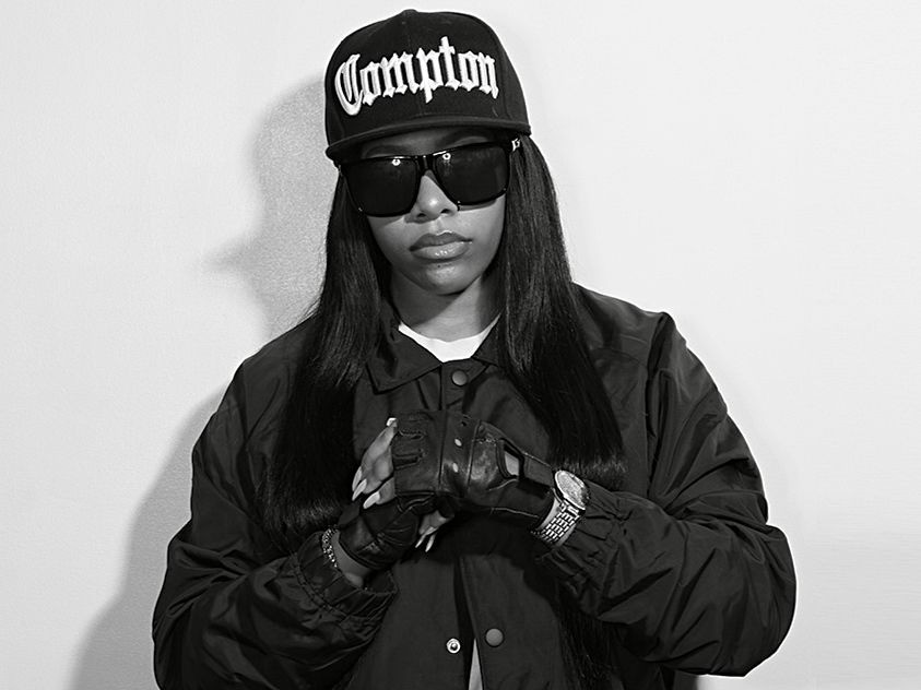 Eazy-E's Daughter, Celebrates Her 54 Birthday, With the same photo session