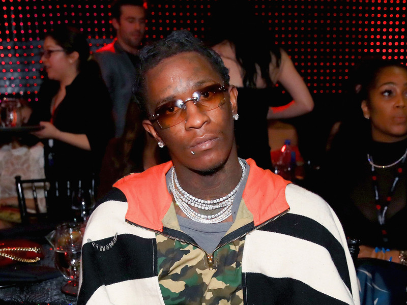 "Young Thug Shares ""On The Run"" Album Features & Cover Art"