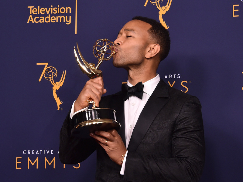 John Legend Becomes youngest EGOT Winner Ever