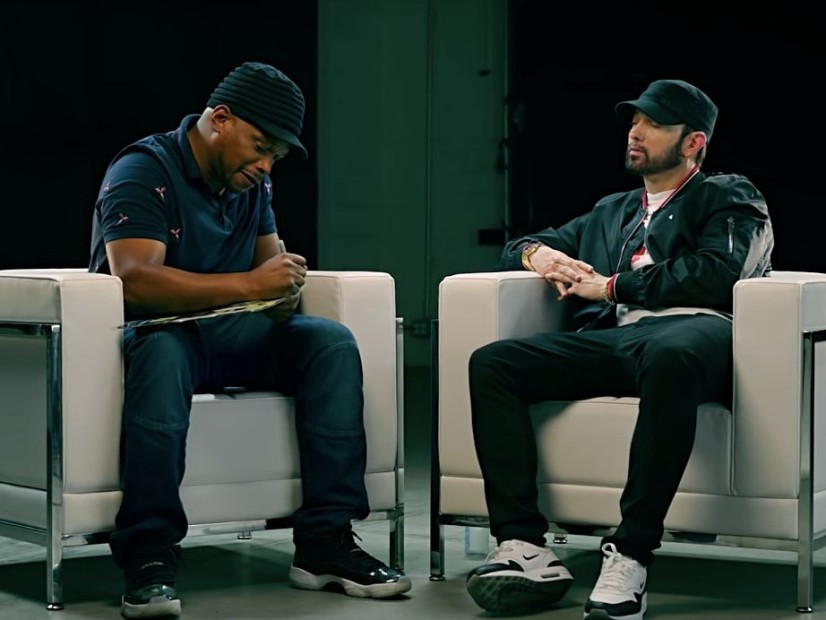 Eminem Reveals The Reason Why Joe Budden Diss And Why He Came For Machine Gun Kelly