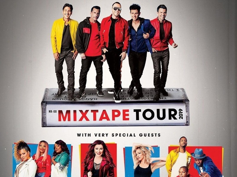Salt-N-Pepa And Naughty By Nature Join New Kids On The Block For The Tour, And Only