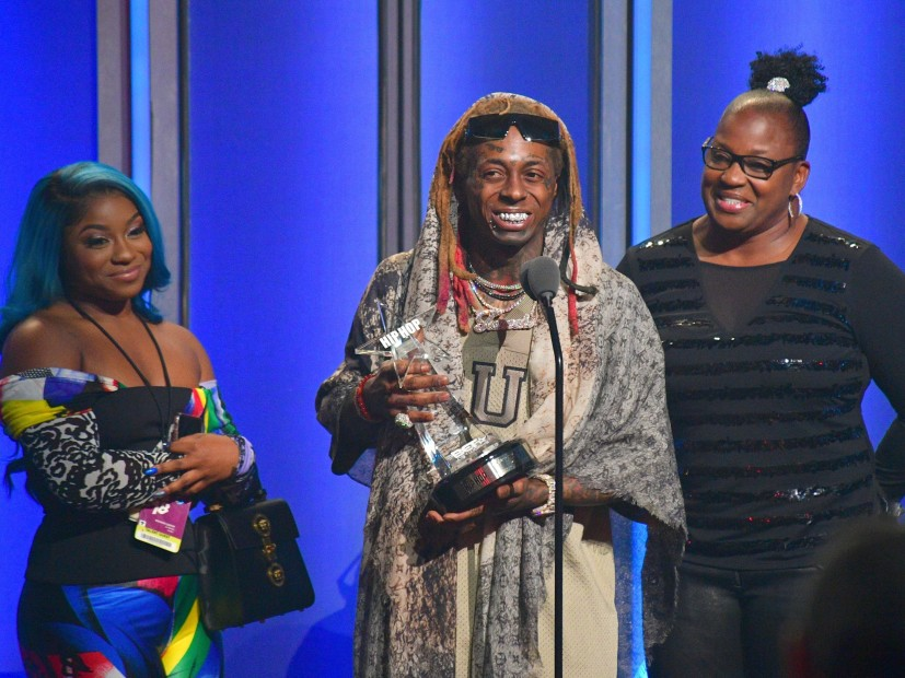Lil Wayne Applauds White of the police That Saved His Life During 2018 BET Hip Hop Awards Speech