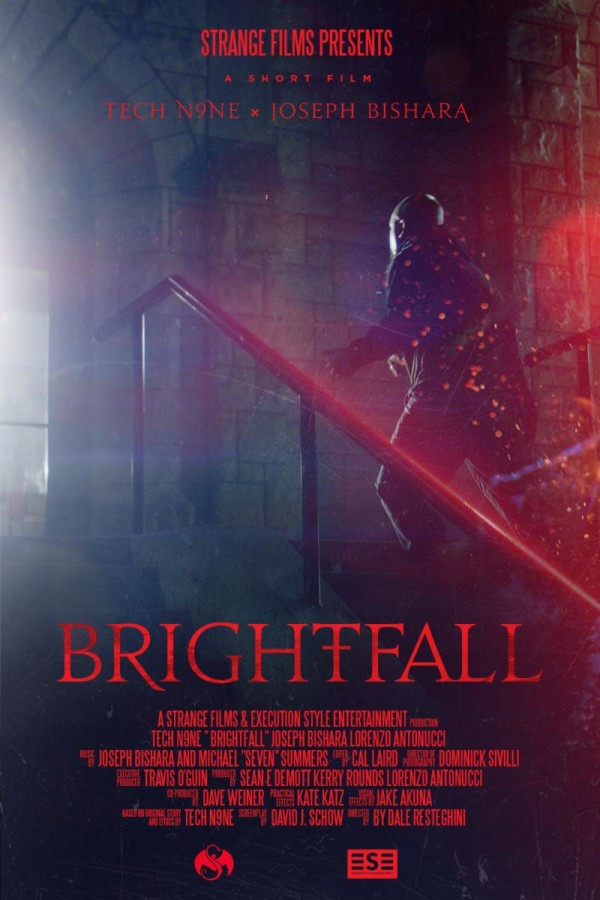 "Tech N9ne Grapples With Demons In ""Brightfall"" Short Film"