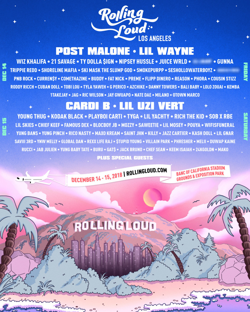 Lil Wayne And Cardi B To Headline Rolling Loud Los Angeles 2018