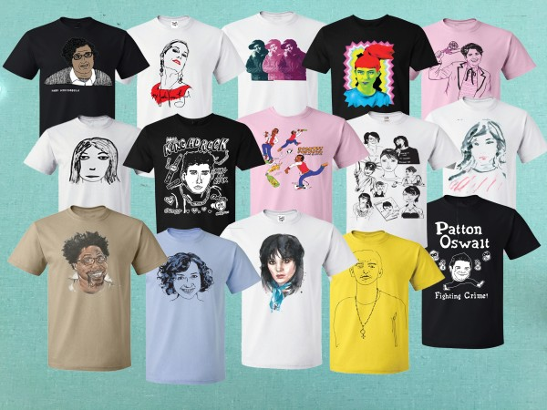 Kathleen Hanna Honors Husband King Ad-Rock & Chuck D With Tees 4 TOGO Line