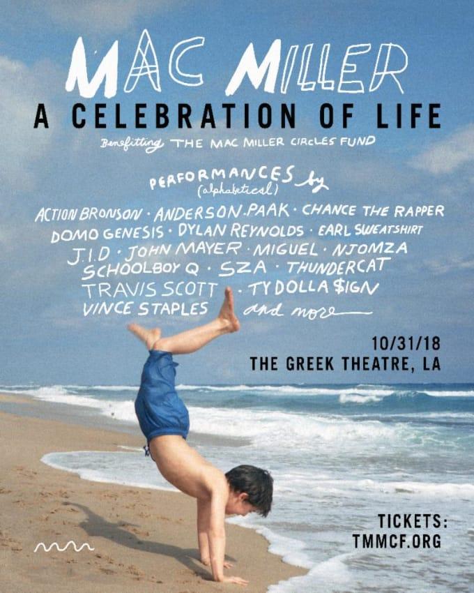 ScHoolboy Q, SZA, Ty Dolla $ign & More Confirmed For Mac Miller Benefit Concert