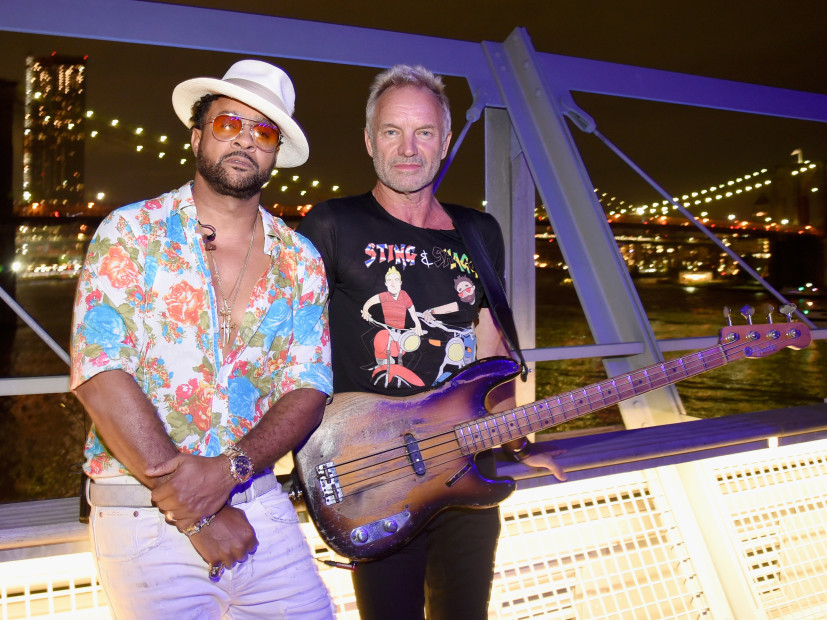 """Sting & Shaggy's Unlikely Friendship Forged Memorable Music On """"44/876"""""""