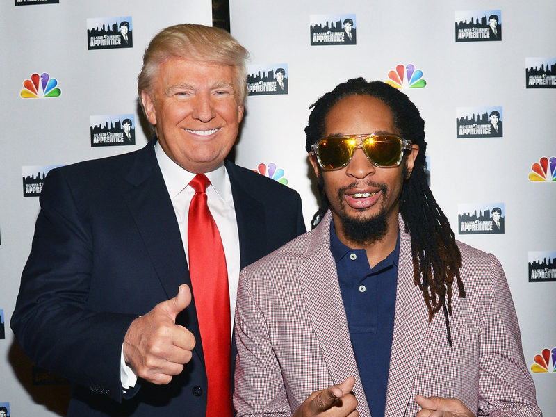 "Donald Trump Is On The Know Lil Jon, In Spite Of ""The Celebrity Apprentice"" Last"