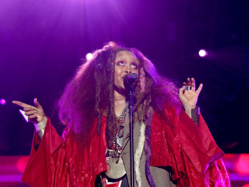 No, Erykah Badu Not Pregnant With the Butterfly of Love of the Child