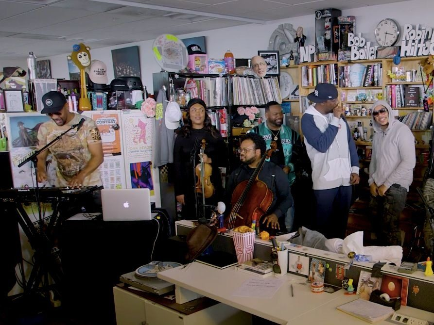 "Wu-Tang Clan Brings The Ruckus TO NPR's ""Tiny Desk"" Concert Series"