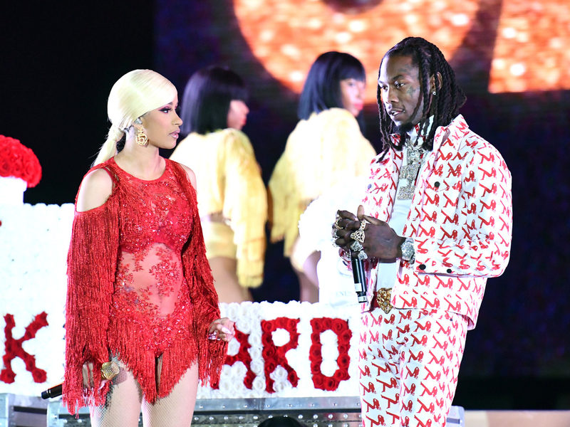 Offset Explains His Cardi B Apology Stunt At Rolling Loud