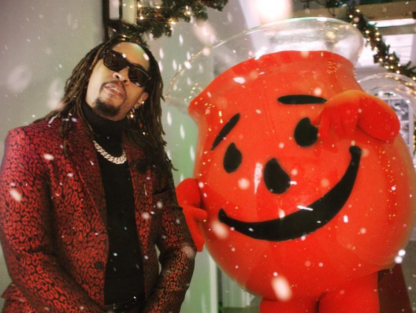 """Lil Jon & Kool-Aid Man To Get Holiday Crunk In """"All I Really Want For Christmas"""" Video"""