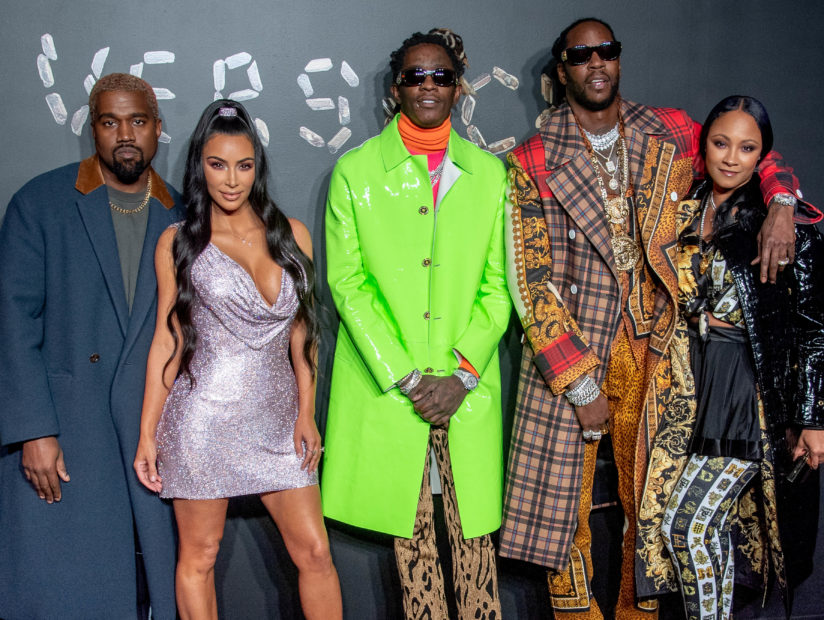 Kanye West 2 Chainz Young Thug More Hit 2019 Versace Fall