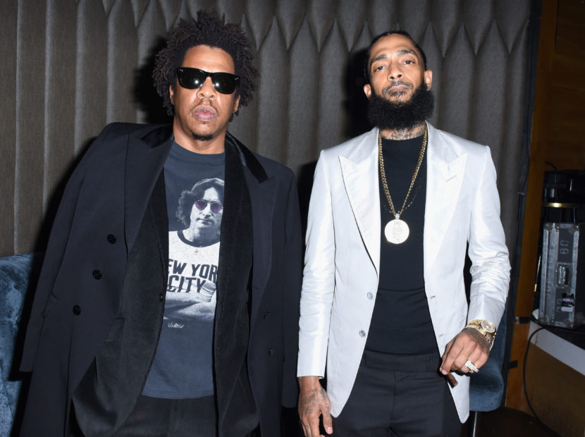 "Nipsey Hussle Celebrates ""Victory Lap"" Grammy Nomination With JAY-Z, T.I. & Snoop Dogg"