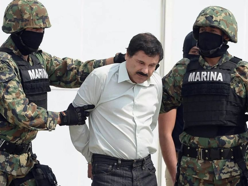 Notorious Drug Lord El Chapo Found Guilty On All 10 Counts