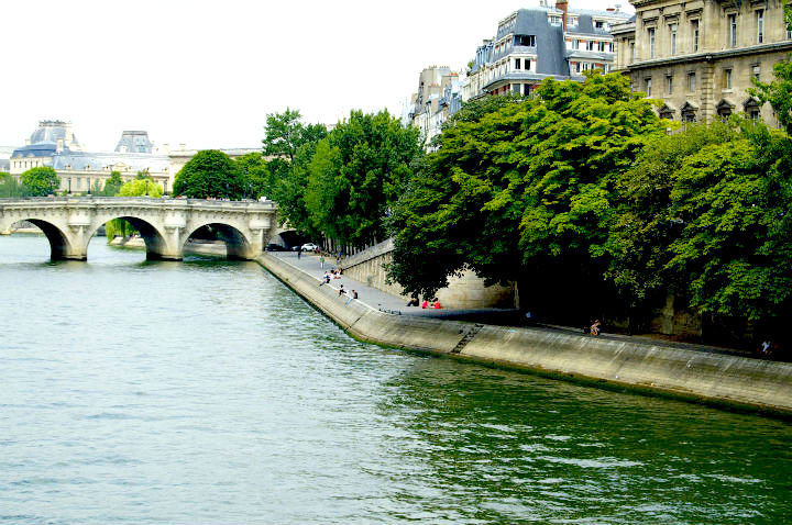 HiP Paris Blog, Isabel Miller-Bottome, Seine
