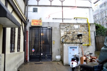 Paris bar and restaurant Le Comptoir Général celebrates African cultures with an eclectic thrift-shop decor.