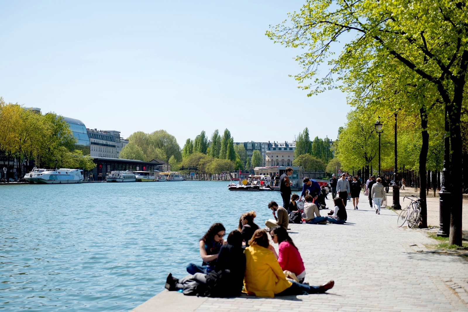 A weekend along Paris' Canal Saint-Martin, an upcoming neighborhood with markets, boutiques, cafes, and more