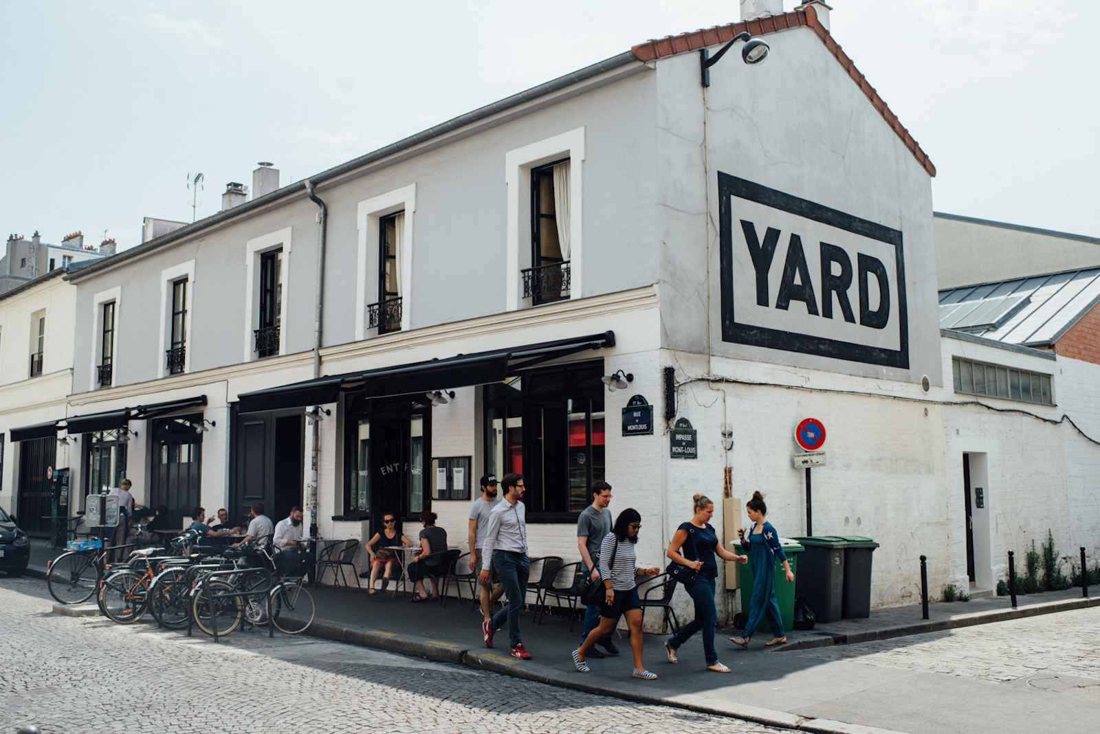Yard Restaurant in Paris' 11th Arrondissement