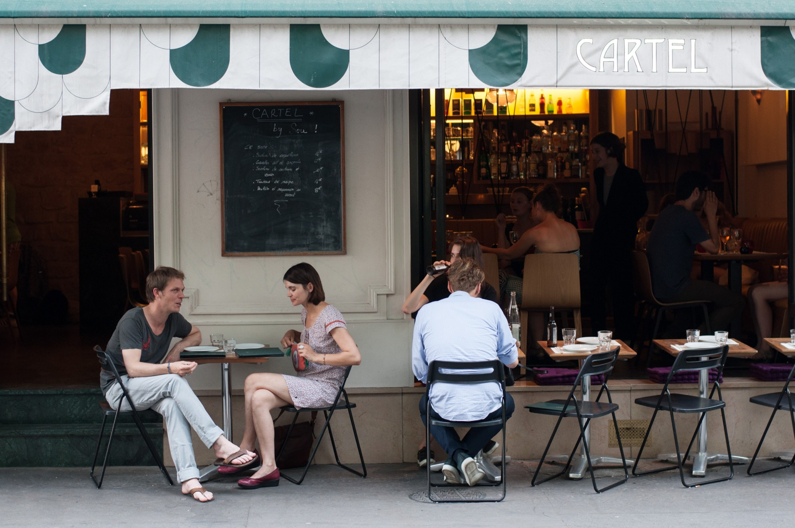 Cartel: Japanese Tapas Along Paris' Canal Saint-Martin