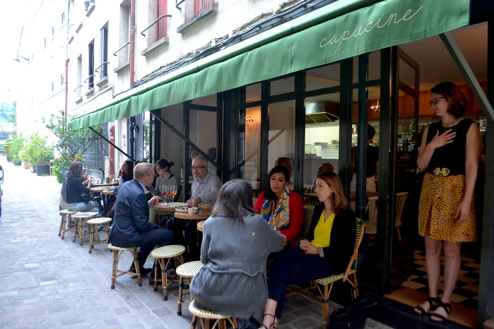 Capucine: An Clandestine Italian Café and Wine Bar in Paris' Faubourg Saint-Antoine