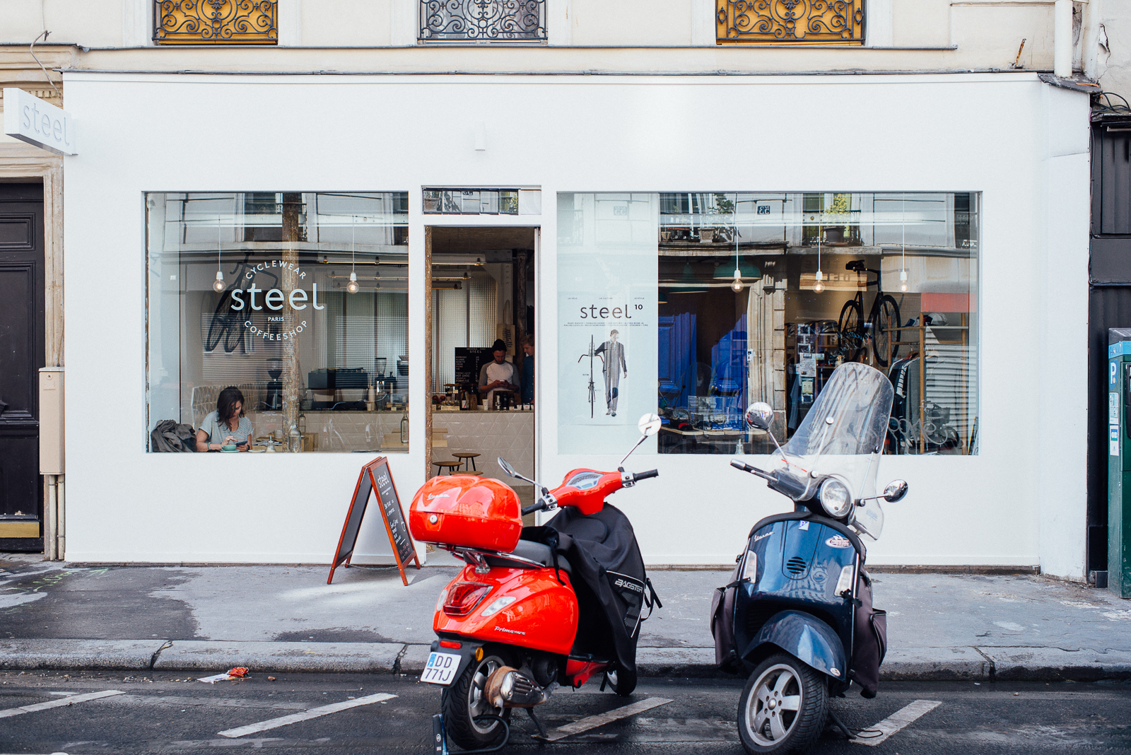 HiP Paris blog. Inside Steel. Street view.