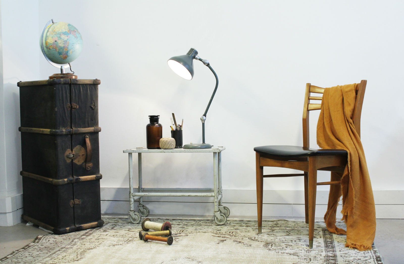 Hip Paris blog. November Events. Brocante Lab. Simple decor yet full of character.