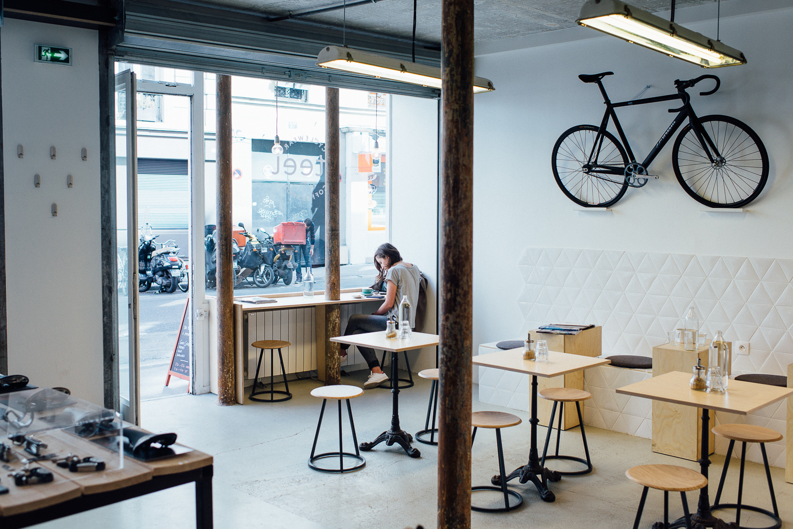 HiP Paris blog. A look back at 2015. Steel Cyclewear & Coffeeshop.