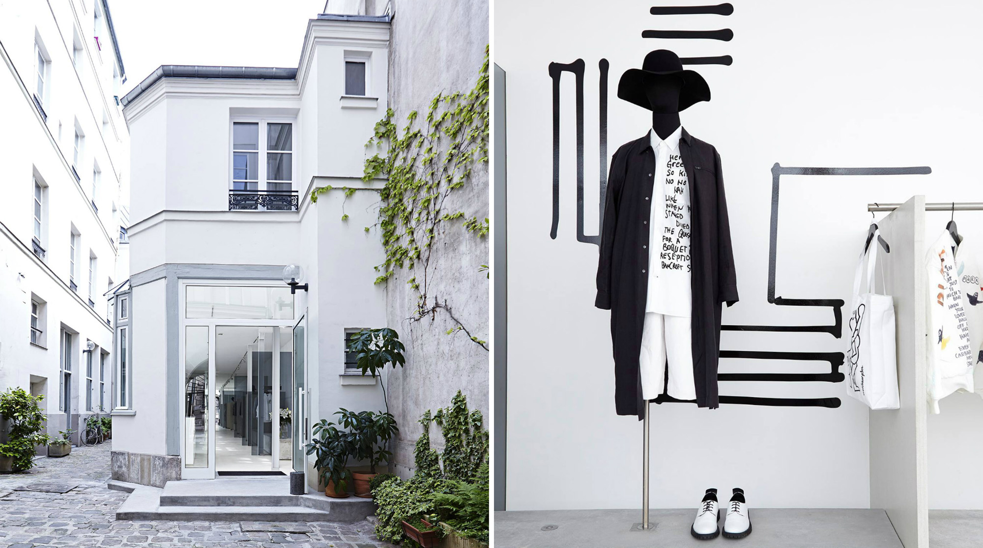 French menswear brand Etudes Studio