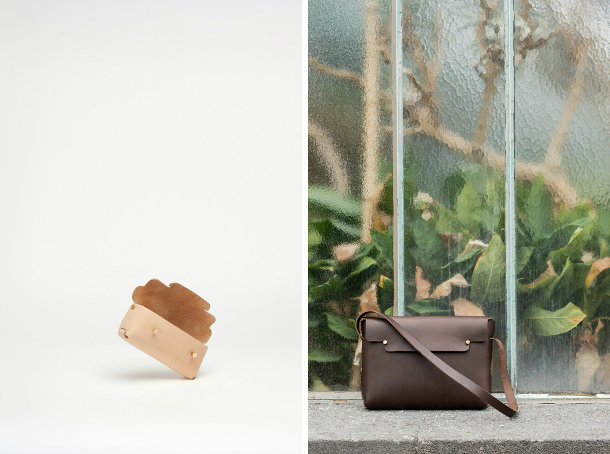 Archipel Paris; Handmade leather bags by Sebastien Cordoleani
